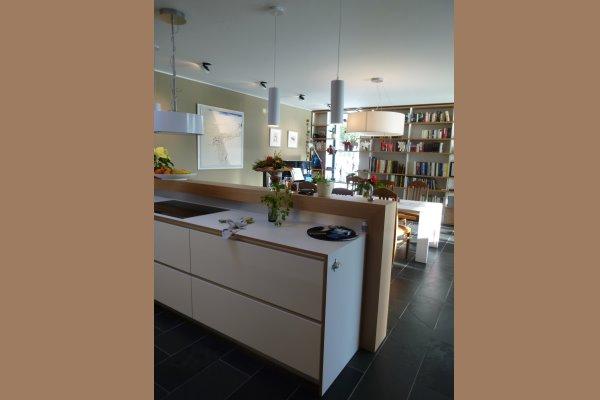 Küche eiche weiß